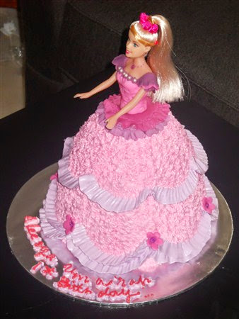 Contoh Roti atau Kue Ulang Tahun untuk Anak perempuan Terbaru 2016/2017