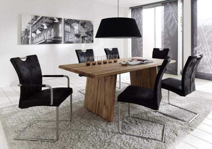 Muebles Mesas de roble macizo