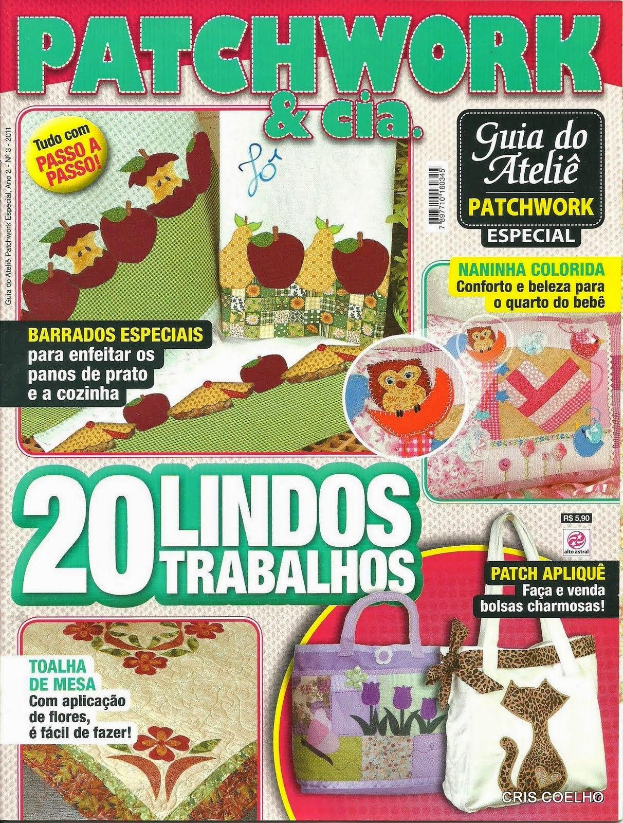 Patchwork para la cocina revistas de manualidades gratis - Patchwork para cocina ...