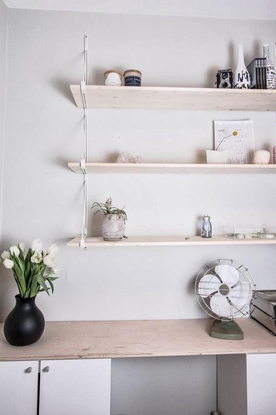 estantería Ikea string