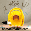Dp Bbm Animasi I Miss U Kumpulan Display Picture Blackberry