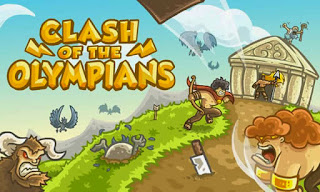Screenshots of the Clash of the Olympians for Android tablet, phone.