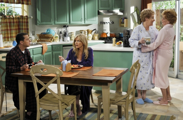 The Talking Box: Two and a Half Men: An Evelyn & Jake Episode on modern family house design, greek house design, ghost whisperer house design, family guy house design,