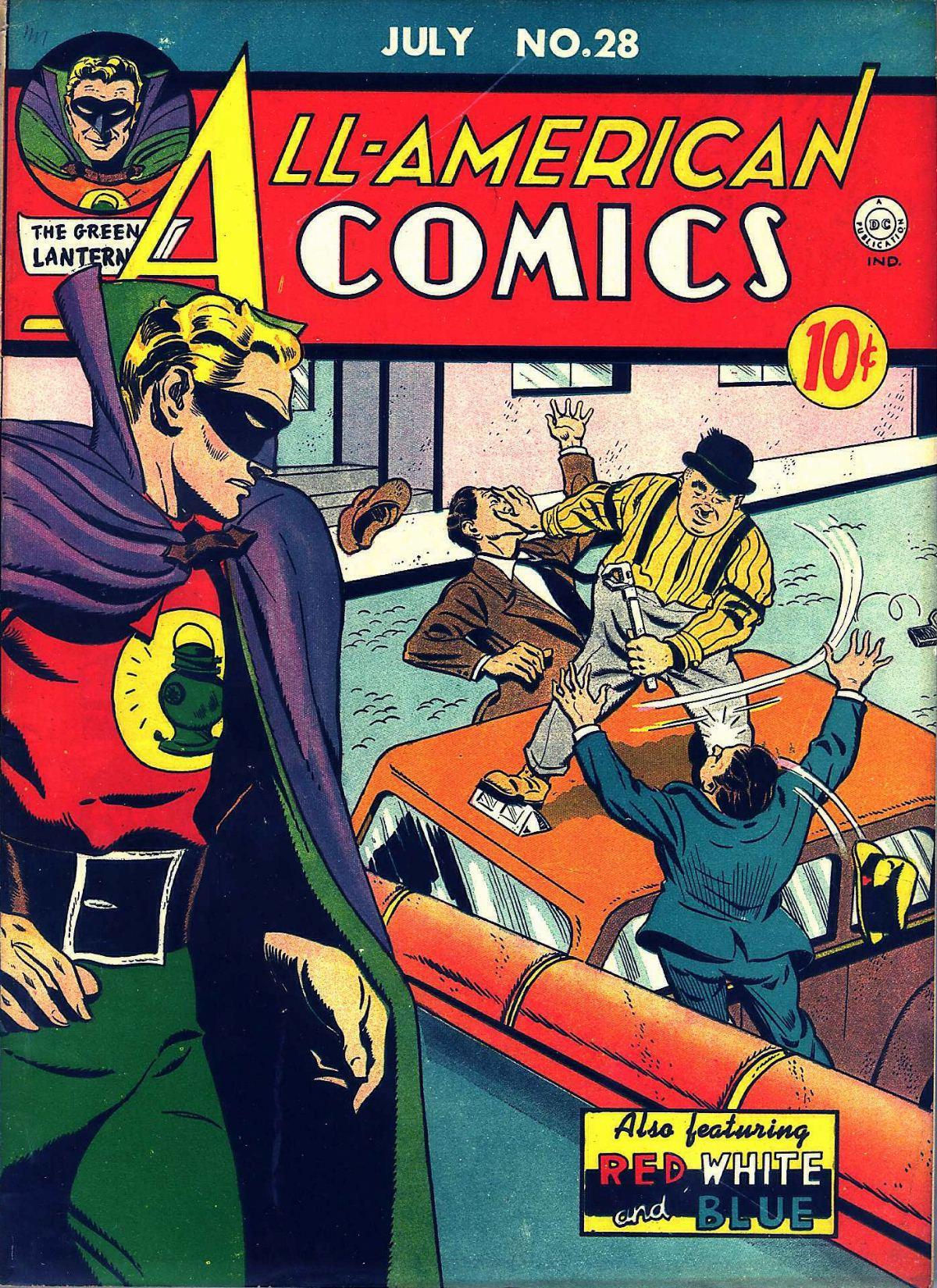Read online All-American Comics (1939) comic -  Issue #28 - 1