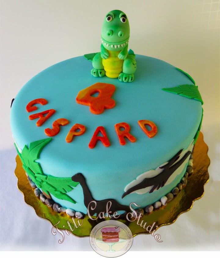 Titti Cake Studio Dinosaur Themed Cake