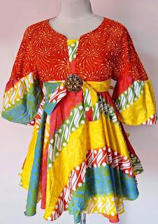 Foto Baju Batik Solo Cantik