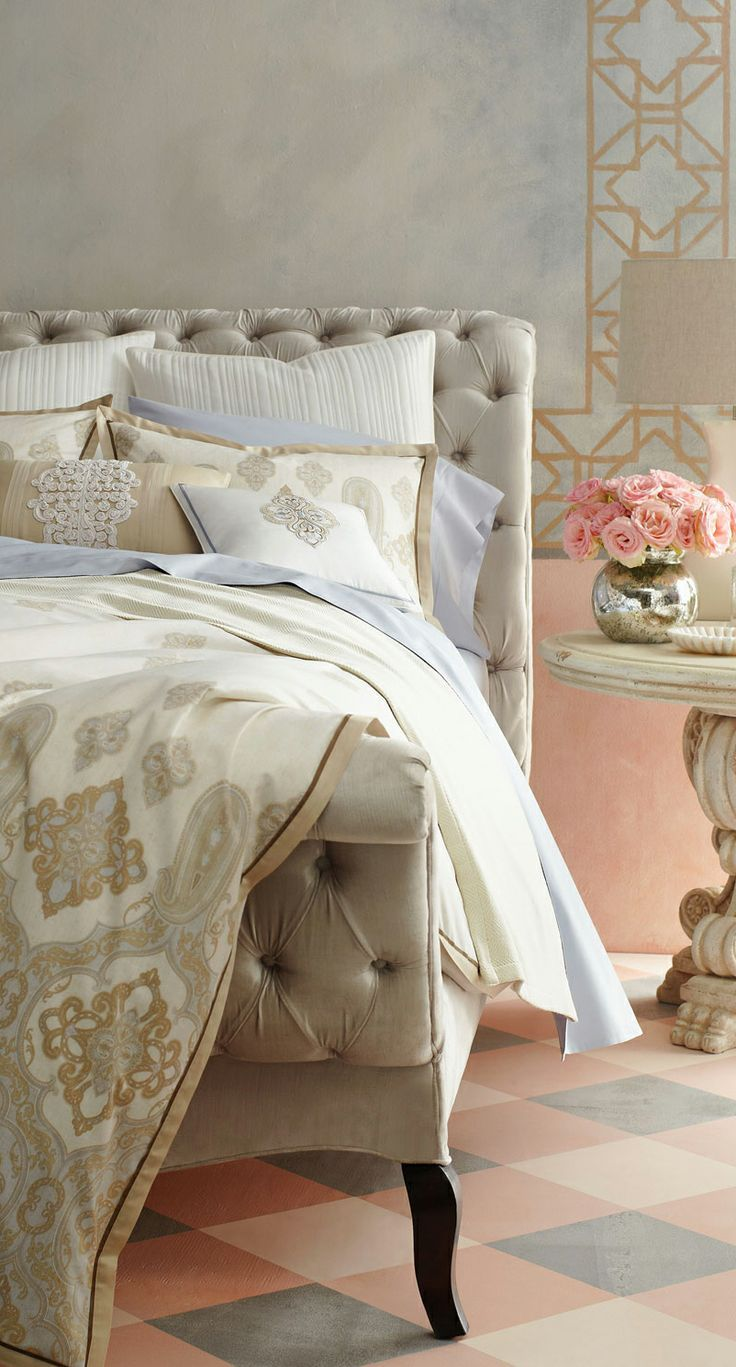 Eye for design decorating bedrooms in a pale color palette for Pale perfection paint