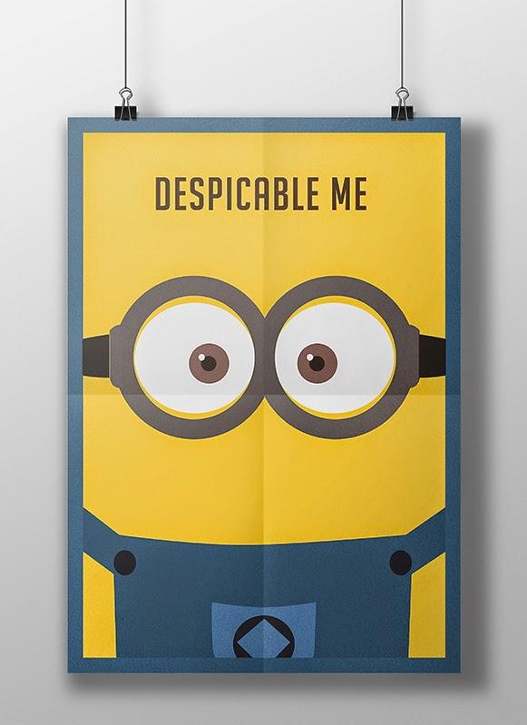 Posters minimalistas – Bem Legaus