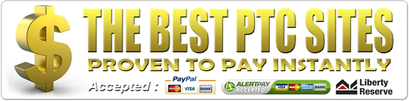 - THE BEST PTC PROVEN TO PAY INSTANTLY -
