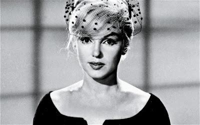 Marilyn Monroe en el rodaje de una película