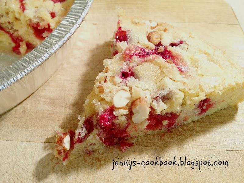 cranberry breakfast cake -secret recipe club