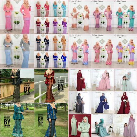 CAntik Semuanya Koleksi Pakaian Untuk Har Raya 2017 Tak Lama LAgi