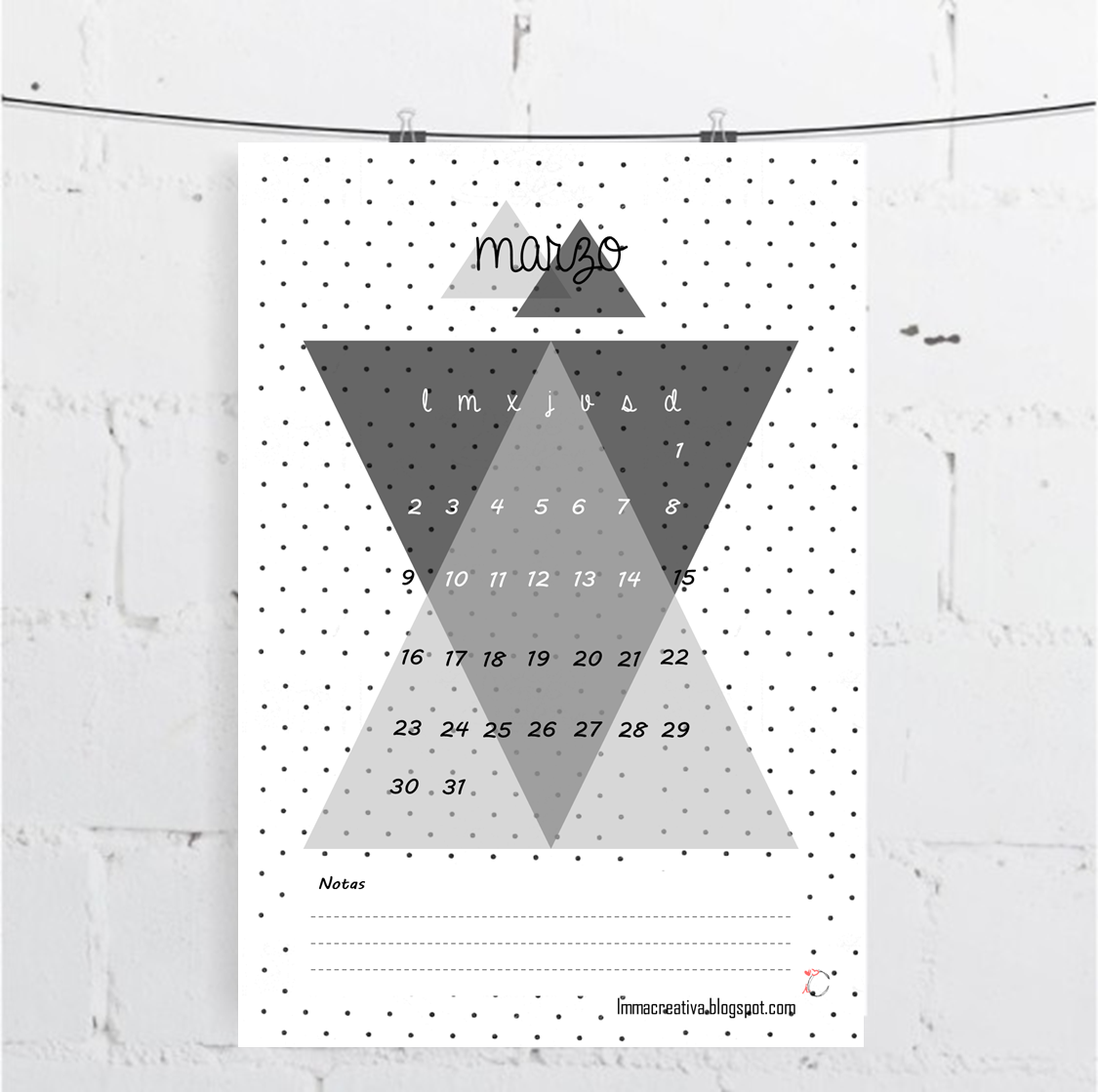 Calendarios-Marzo-ImmaCreativa