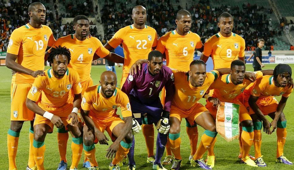 Squad Lists (Côte d'Ivoire)- FIFA 2014