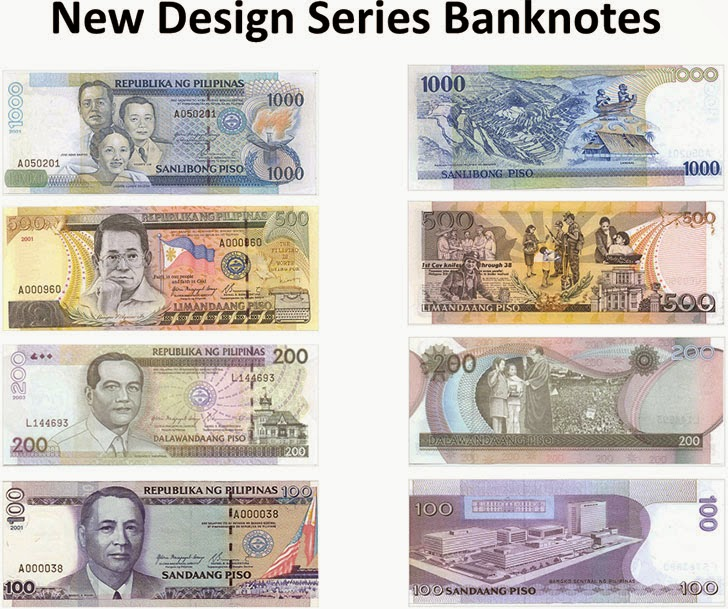 New design series banknotes