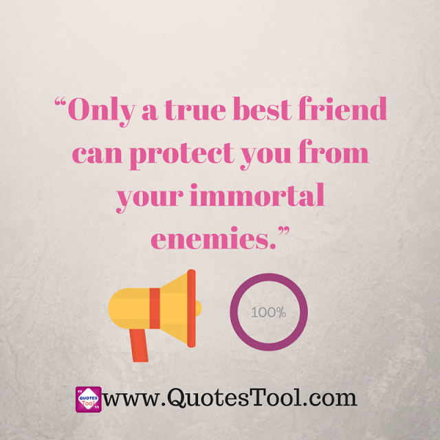 Friendship protection quotes image