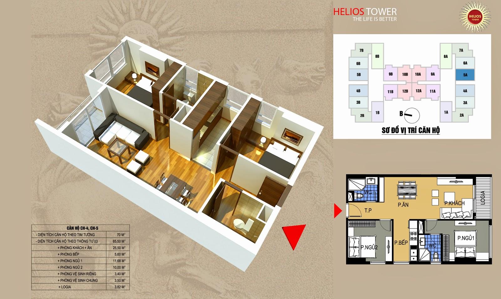Chung Cư Helios Tower