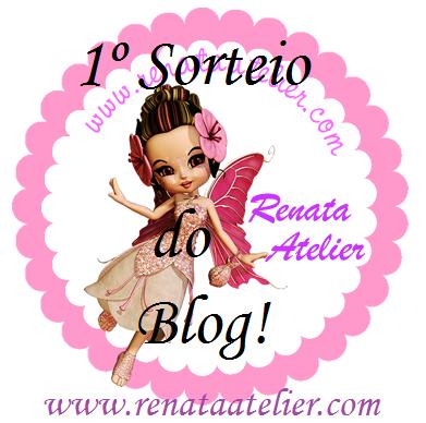 Sorteio no blog Renata Atelier