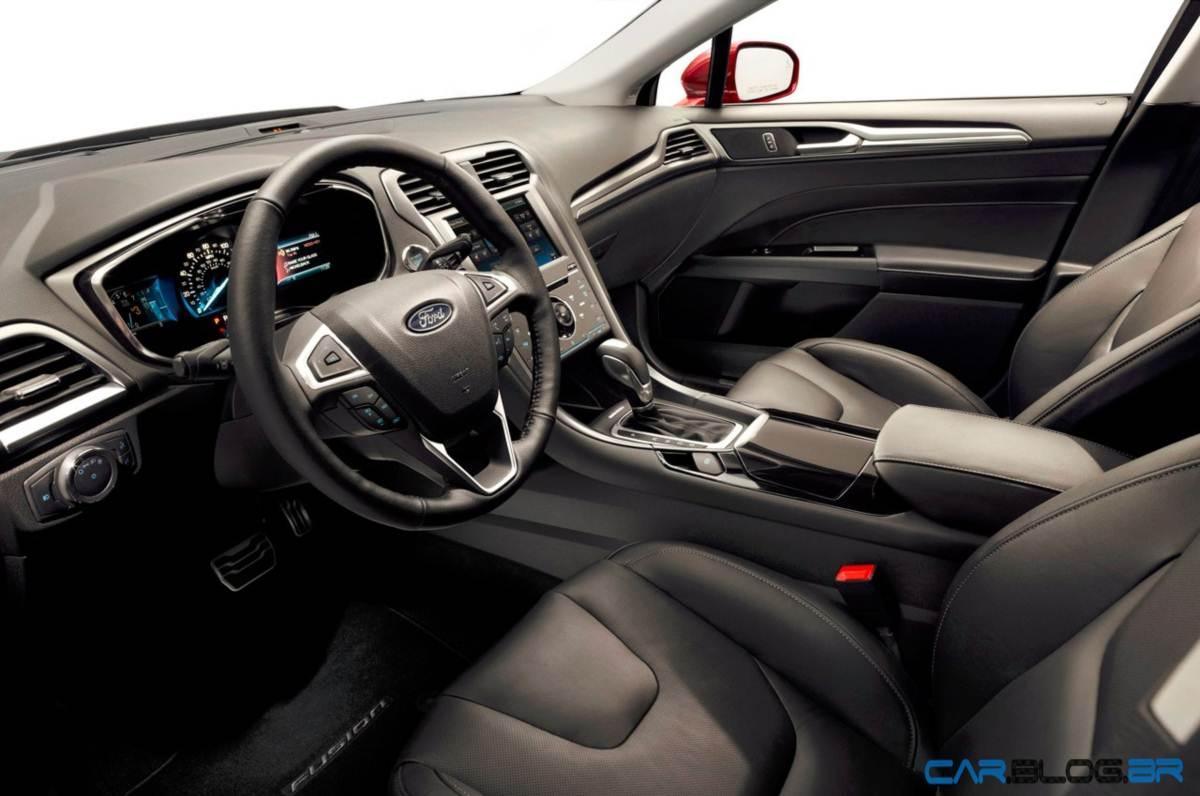 Ford fusion 2013 chega ao m xico pre o de r reais car blog br for 2015 ford fusion titanium interior