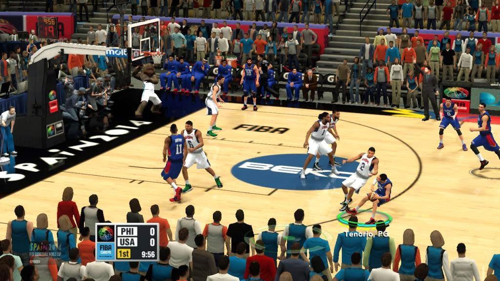 FIBA 2K14 Europe Mod