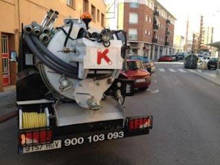 Servicios con camiones cuba