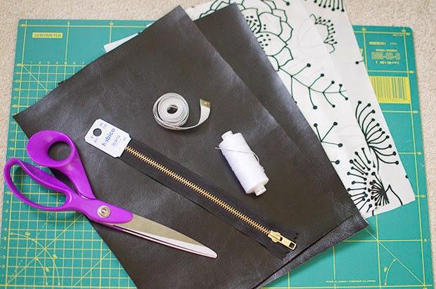 HOW TO MAKE FOLDOVER CLUTCH BAG DIY