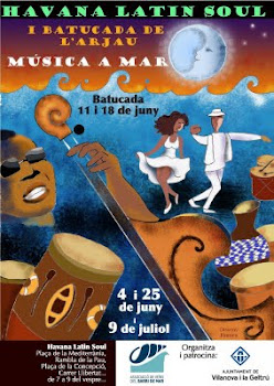 Concierto Afrocubano.Barrio de Mar.Vilanova I La Geltú