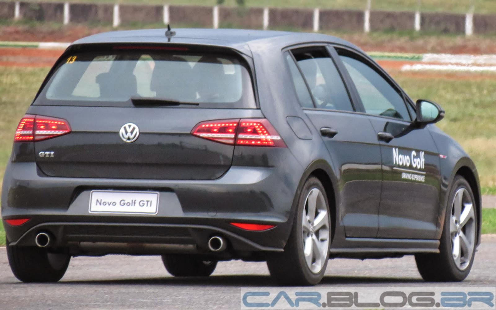 Novo Golf GTI - Fullpower Lap
