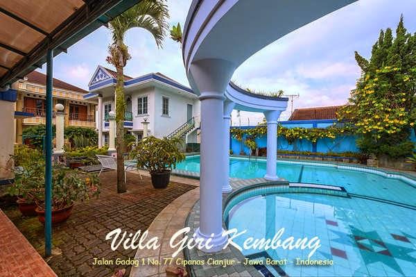 Foto Villa Giri Kembang Cipanas Puncak
