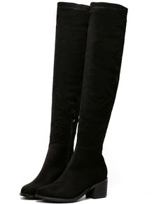 www.shein.com/Black-Chunky-Heel-Suede-High-Boots-p-239481-cat-1748.html?aff_id=2687