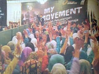 My Movement, Yuk Menjadi BUNGA DAKWAH !