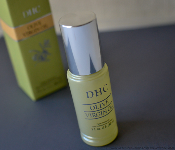 DHC Skincare Olive Virgin Oil Face Body Moisturizer - Review
