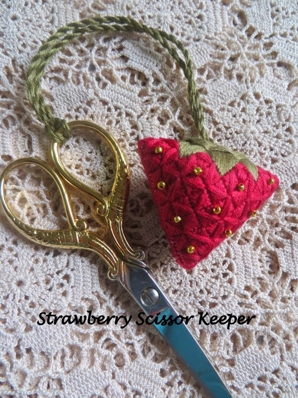 Strawberry Scissor Keeper
