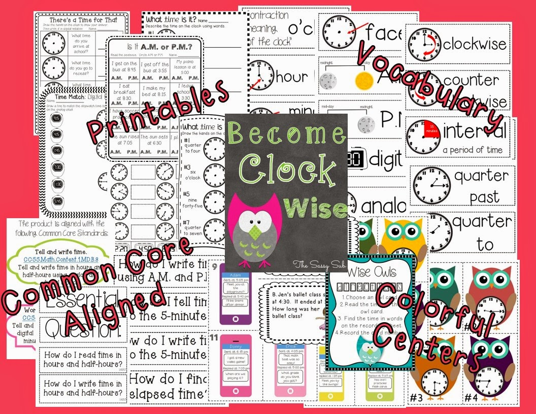http://www.teacherspayteachers.com/Product/Become-Clock-Wise-Telling-Time-1229305