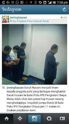 Gambar Penahanan Dato Husam Musa