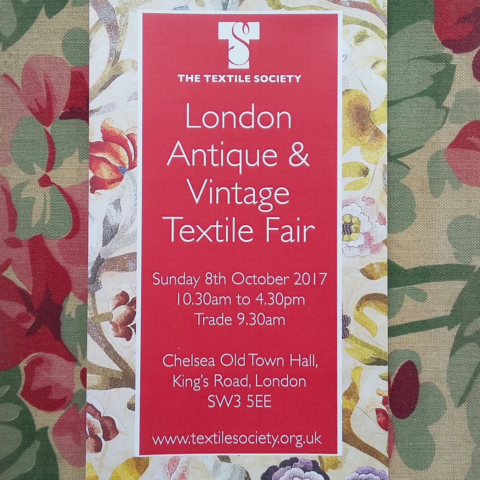 The Textile Society. London Antique and Vintage Textile Fair