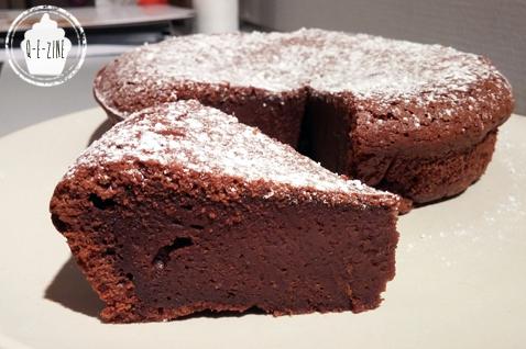 Gateau moelleux au chocolat et poudre d'amande