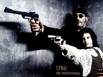 hand guns leon the professional assassin movie