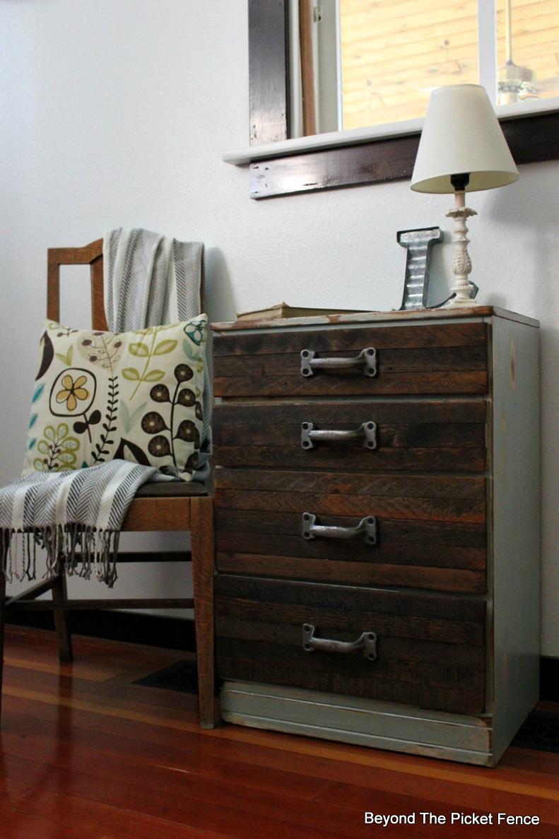 Industrial Rustic Reclaimed Wood DIY Metal Dresser Salvaged