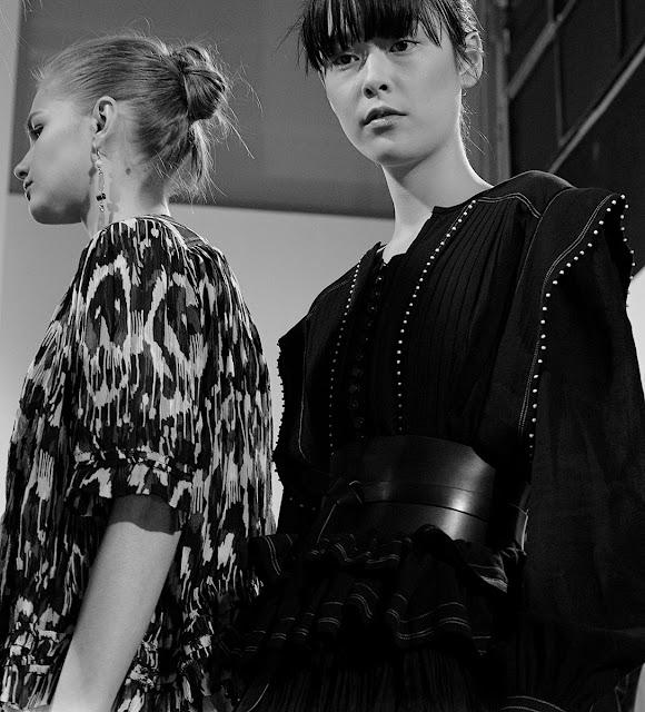 Isabel Marant Fall 2015 Backstage