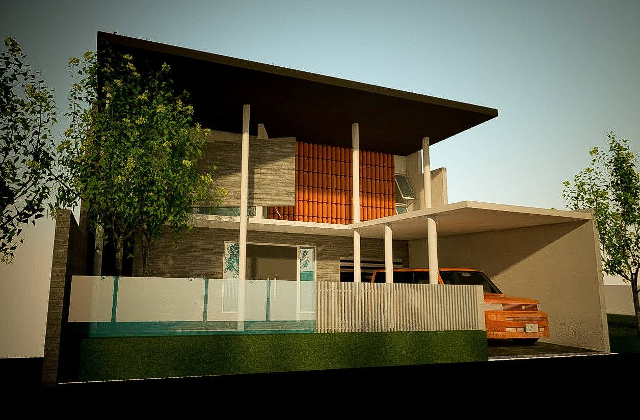 Cawah homes minimalist and modern house design for a muslim for Contemporary minimalist house