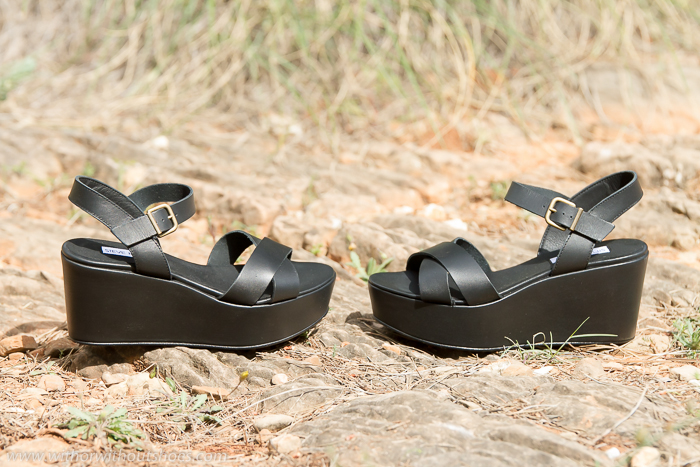 Sandalias flatforms cuña plataforma comodas para el verano de Steve Madden