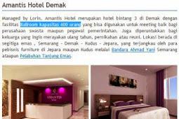 Rekomendasi Hotel Di Kota Demak Bintang 3