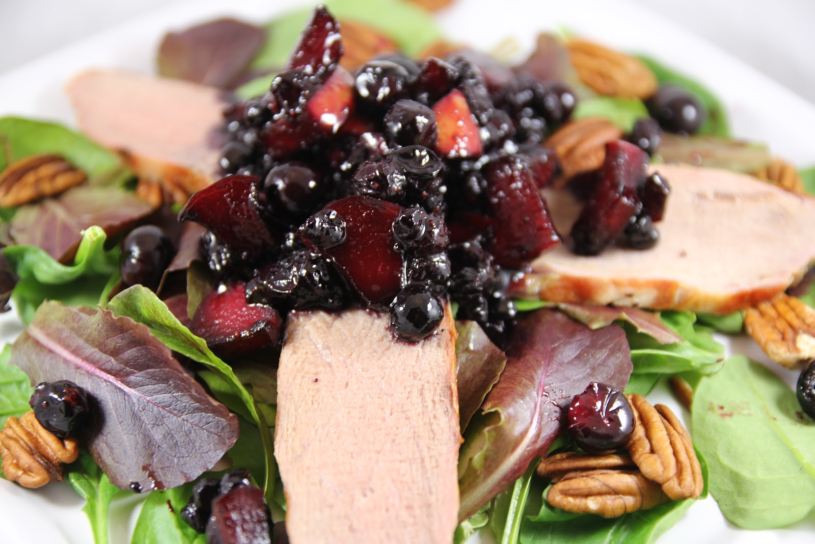 Crostini and Chianti: Pork Tenderloin with Apple-Blueberry Chutney