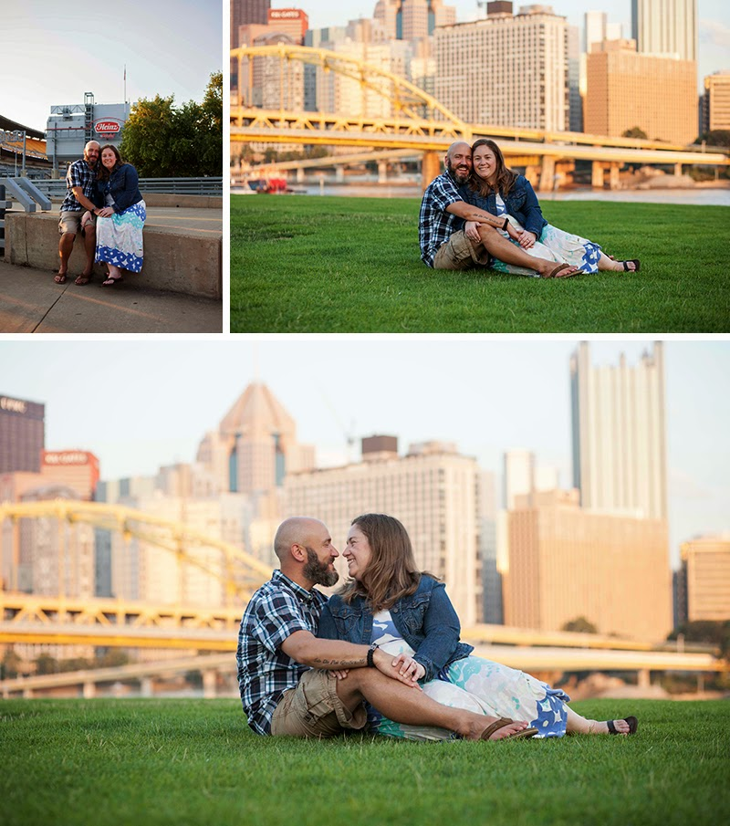 Pittsburgh PA engagement session Sandra Jackosn Photography