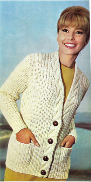 Vintage Knitting Pattern Library : The Vintage Pattern Files: 1970s Knitting - Cable Jumpers ...