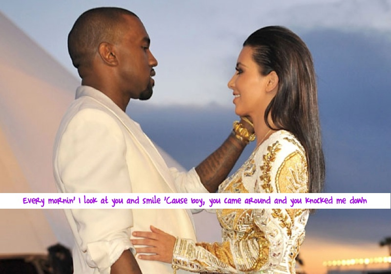 Kim and Kanye  | Life Soundtrack : Knock You Down - Keri Hilson Ft. Kanye West & Ne-Yo