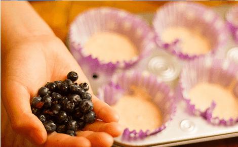 sürpriz meyveli muffin saypımı