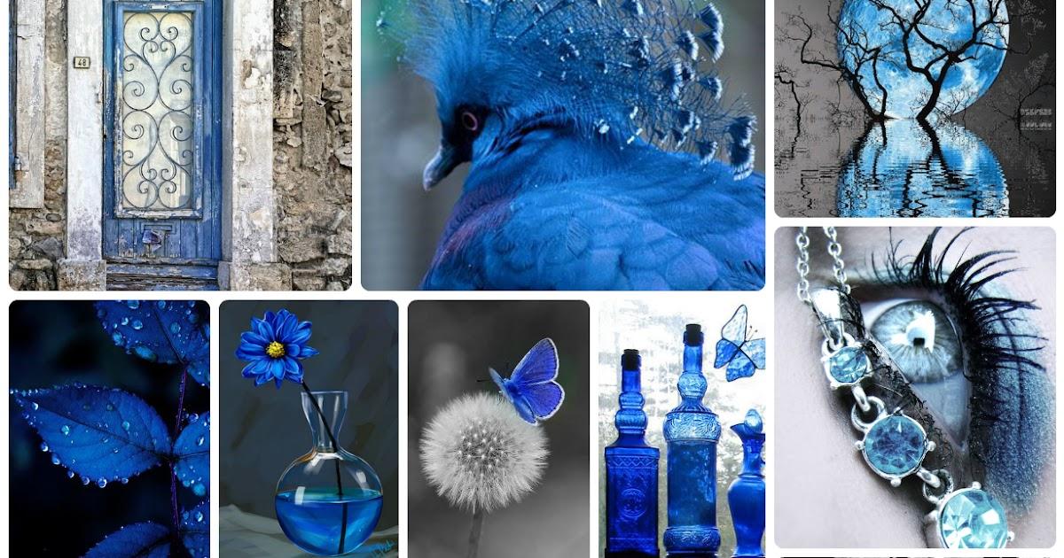 Как сделать из черного цвета синий