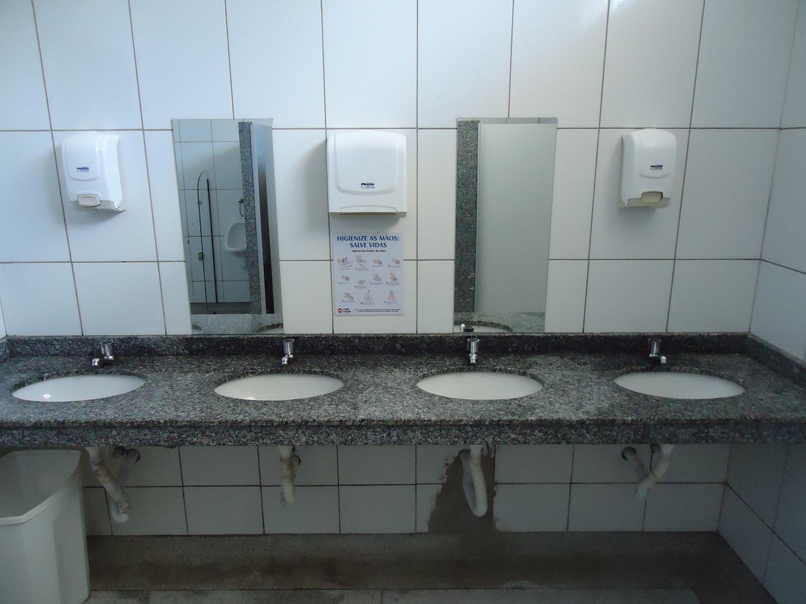 Banheiro Restaurante  homefiresafetykitcom banheiros com pastilhas -> Banheiro Feminino De Restaurante